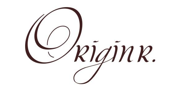 Logotype, étiquettes de rhum – Origin R