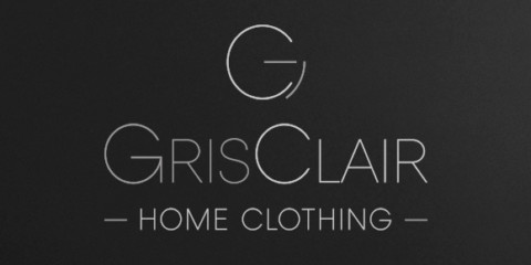 Logotype, brochure, site web – GRIS CLAIR