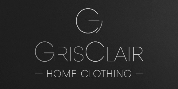 Logotype, brochure, site web – GRIS CLAIR