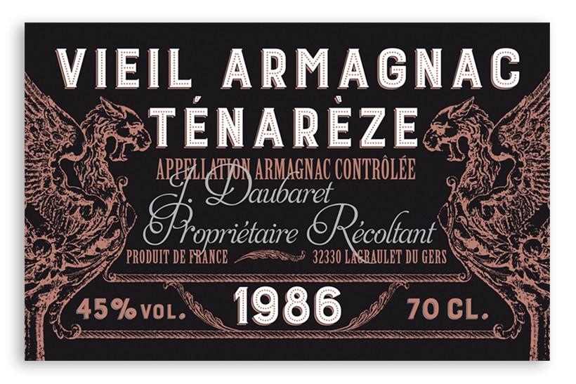 Etiquettes de Whisky – Vieil Armagnac
