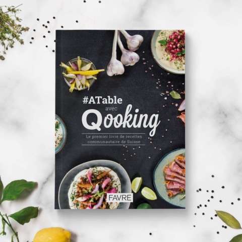 Livre de cuisine – Qooking