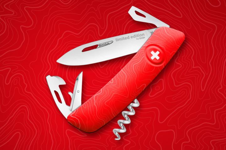 Design de couteau – Swiza