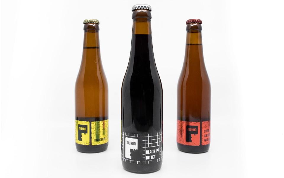 Etiquettes de bières Mükon