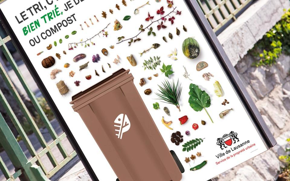 Gros plan sur la campagne 2019 du service de la propreté de Lausanne