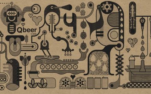 Carton et tote bag – Qbeer