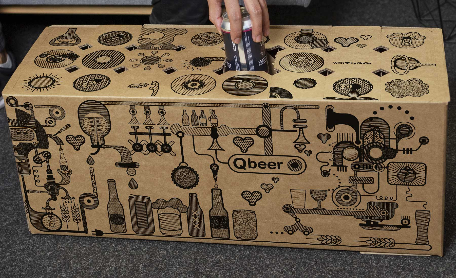 Carton Qbeer