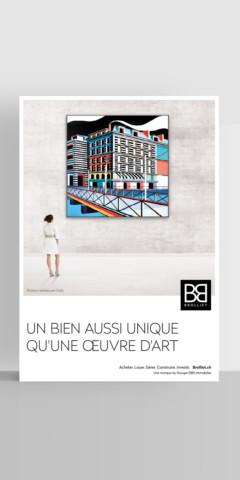 Campagne d'affichage – Brolliet