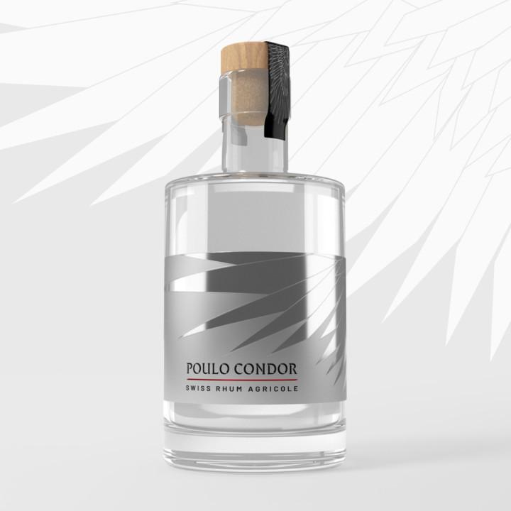 Etiquette de Rhum – Poulo Condor