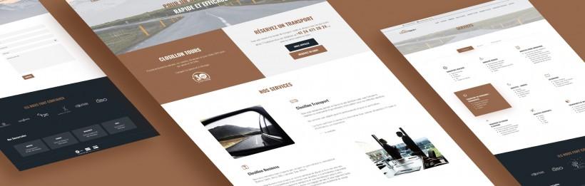 Site web, identité – Closillon Tours