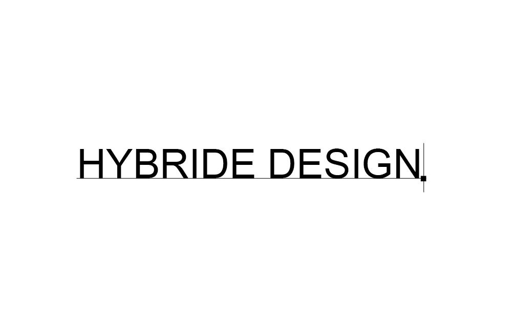 Choix typographique, hybride design, identité visuelle