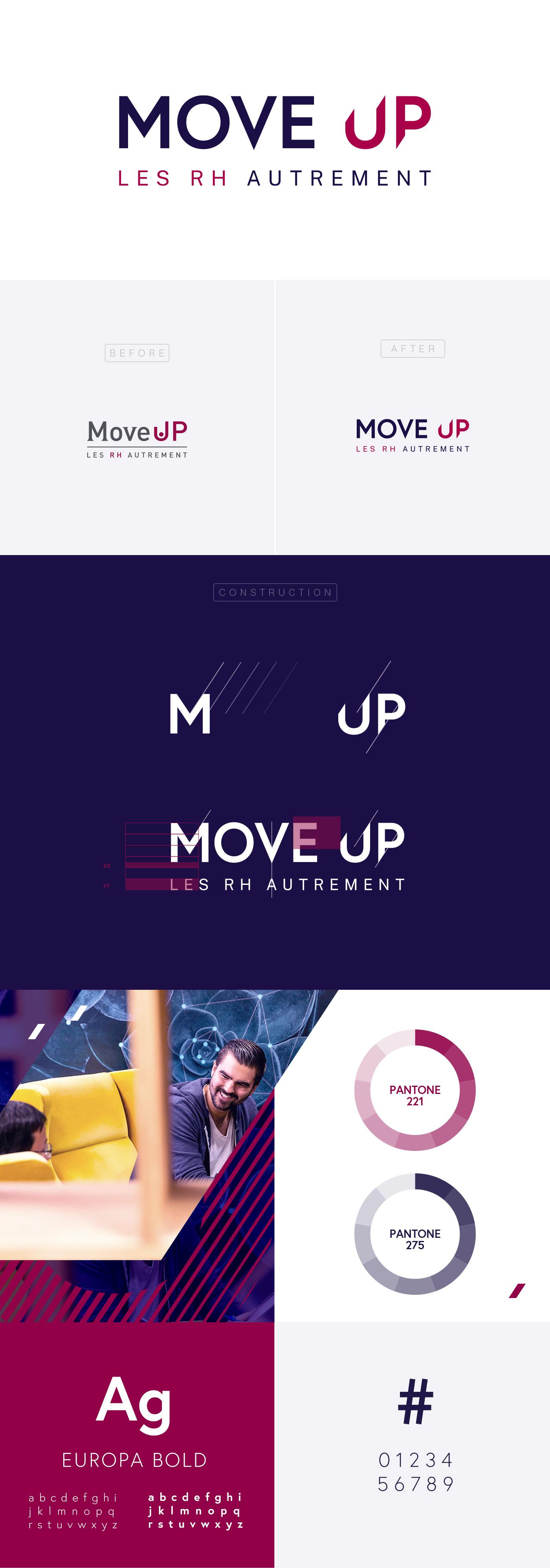 Présentation du logo de Move Up